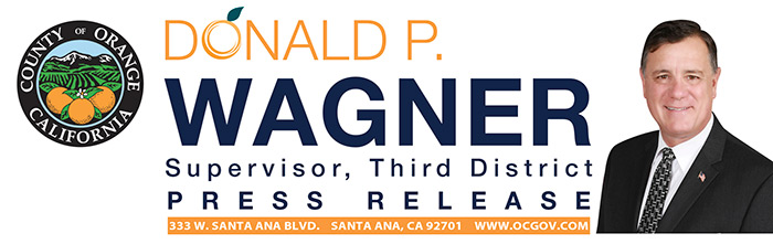Supervisor Donald P Wagner's Third District Newsletter